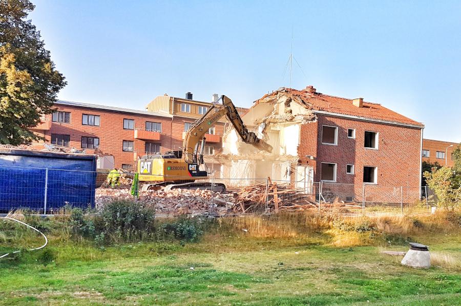 2023 hoppas man på nya lägenheter på sjukhusområdet