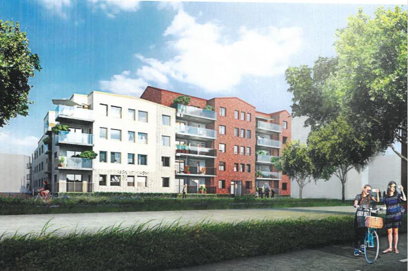 Planer på ett 55+ boende i Norra Borstahusen