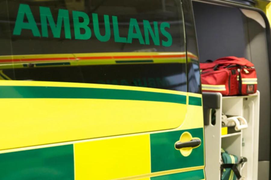 Ansträngt läge inom sjukvård och ambulansverksamhet