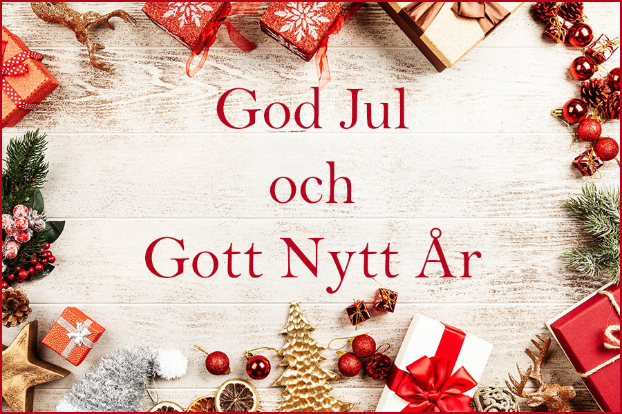 Många vill önska god jul