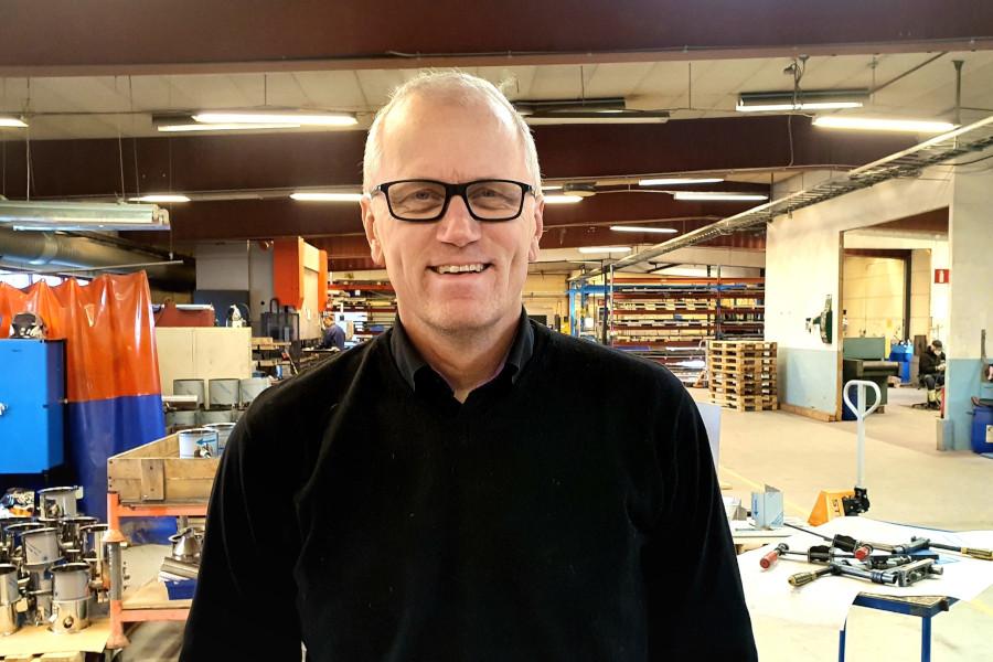 Ny VD i Frankis Rostfri Teknik AB