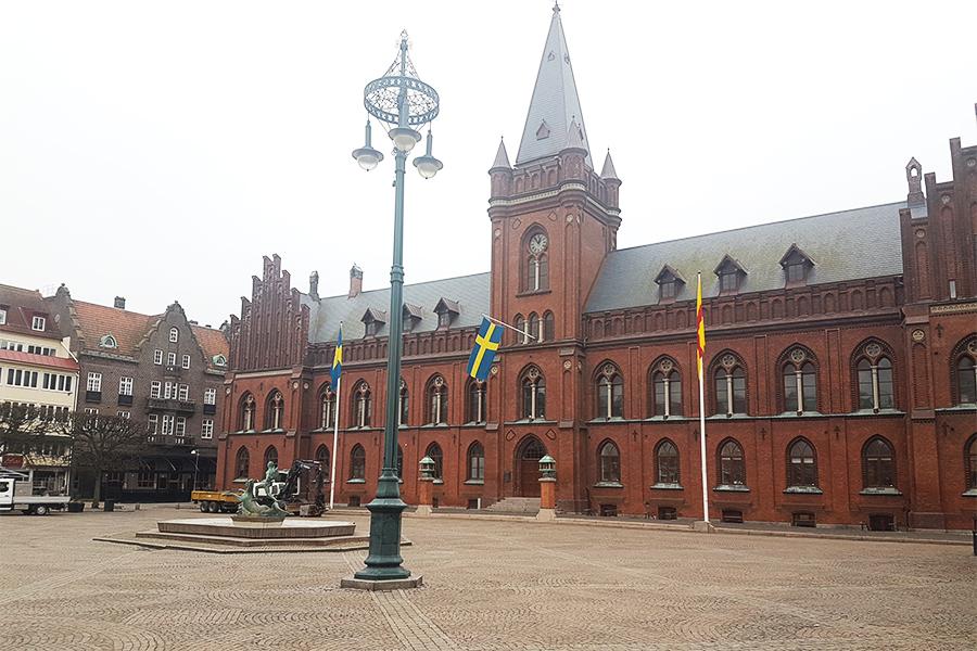 Kalmarunionens flagga markerar Nordens Dag