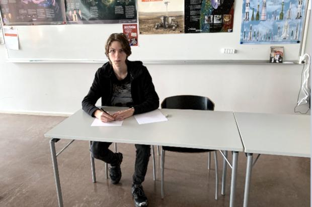 Häljarpare på Rymdgymnasiet har Fysikolympiaden i sikte