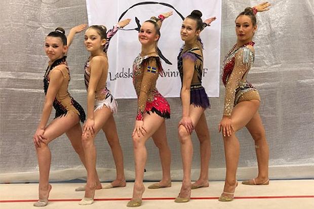 Gymnaster fick äntligen tävla igen