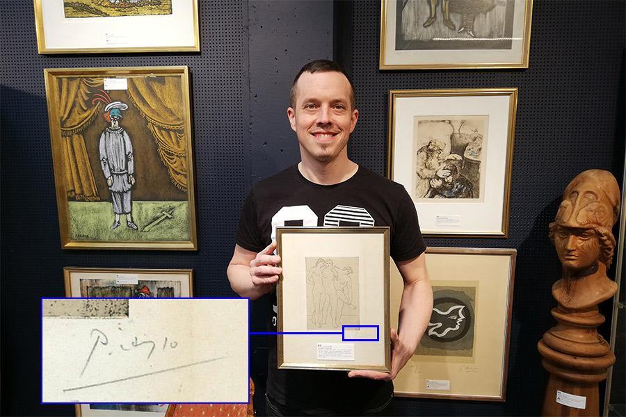Konst i fokus på auktion