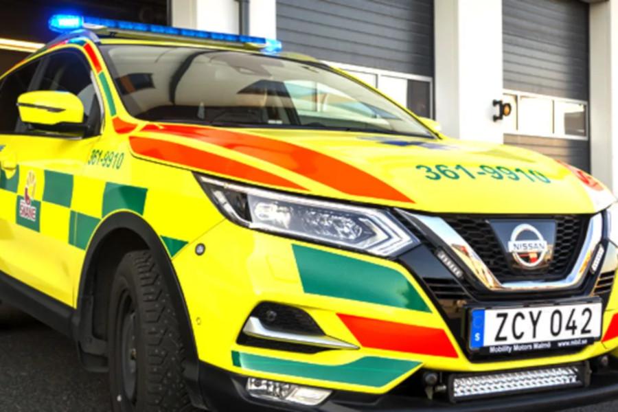 Ny lösning för ambulansen på Ven
