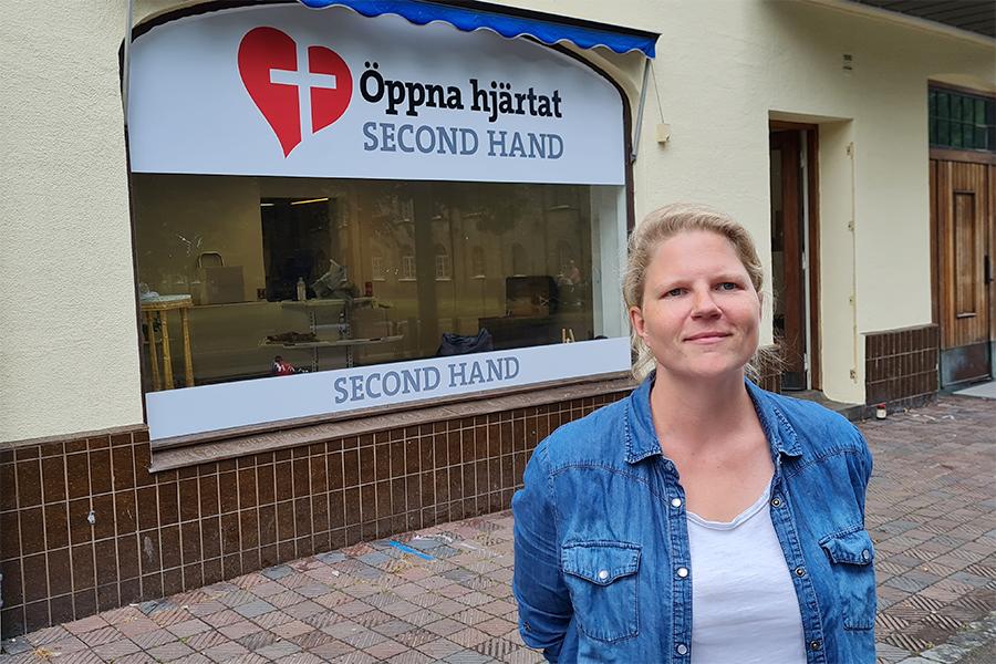 Öppna Hjärtat öppnar sommarbutik