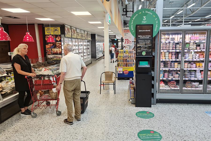 Kunden fixar billigare mat vid kort datum