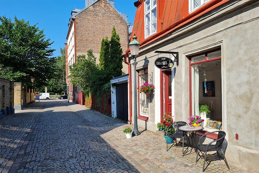 Paris kommer till Landskrona för en dag