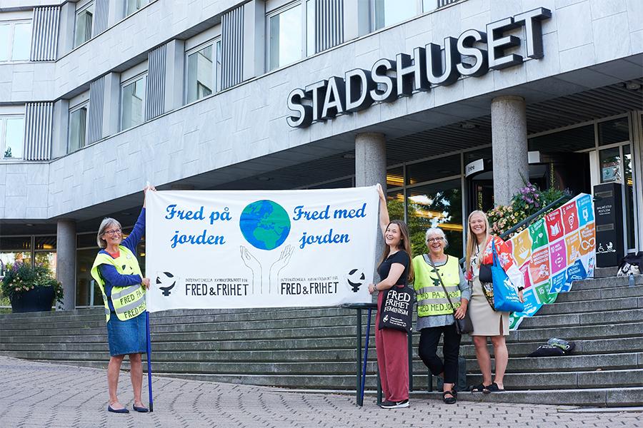 Cykelmanifestation för Freden och Klimatet