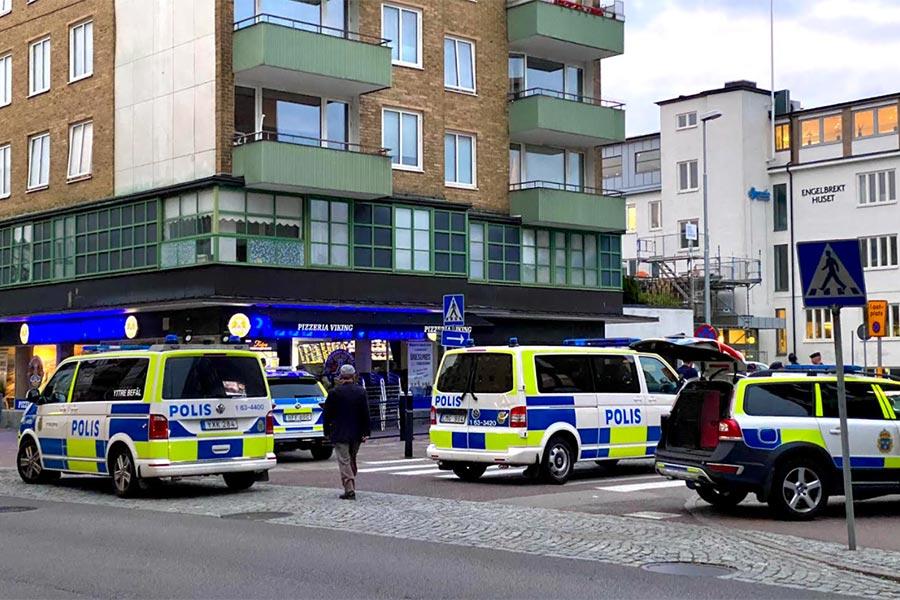 Stort bråk orsakade polispådrag