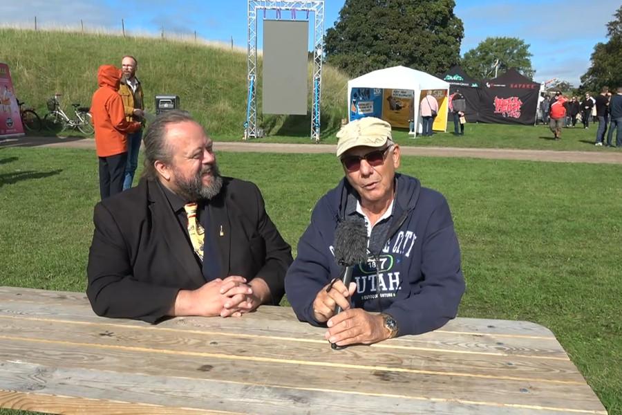 Webb-TV: Sven och Poul gästar Skånes Matfestival