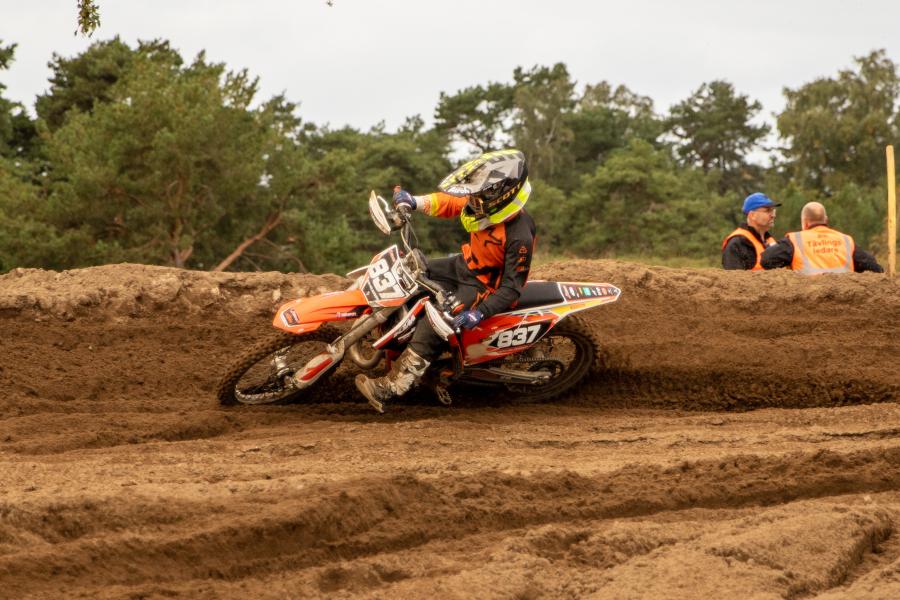 Rapport från DM motocross i Saxtorp
